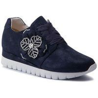 Sneakersy - 9-23700-22 navy shiny sue 817 marki Caprice