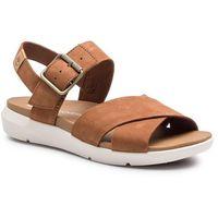 Sandały - wilesport lthr sandal tb0a1tsnf13 rust nubuck marki Timberland