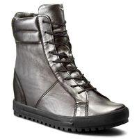 Sneakersy WOJAS - 6671-59 C.Srebrny, kolor szary