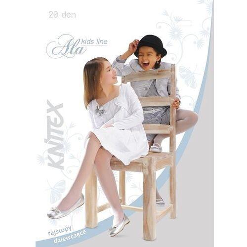 Knittex Rajstopy ala 20 den rozmiar: 152-158, kolor: czarny/nero, knittex