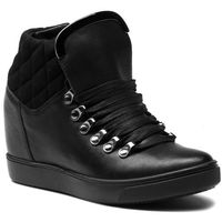 Sneakersy - 8660-71 czarny, Wojas