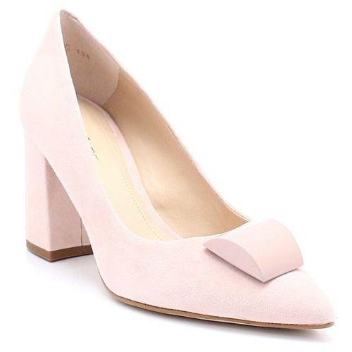 SOLO FEMME 75444 RÓŻOWE - Czółenka z ozdobą - Różowy, kolor różowy