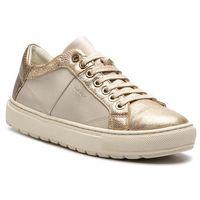 Sneakersy GEOX - D Breeda D D822QD 0BCKY C1240 Off White/Gold