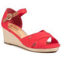 Sandały - jazz mila' wl01520a red 087 marki Wrangler