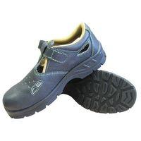 Sandały robocze czarne OHIO S1 47, kolor czarny