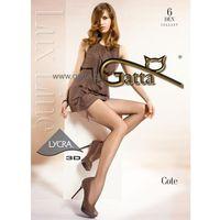 Rajstopy Gatta Cote 6 den 3-M, beżowy/golden, Gatta, 000349000319