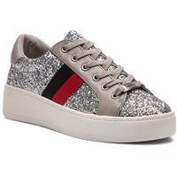 Sneakersy - belle-g sneaker sm11000207-02005-060 silver multi, Steve madden