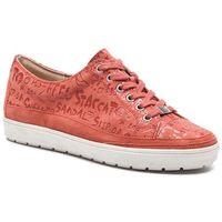 Sneakersy CAPRICE - 9-23664-32 Orange Letters 690, kolor pomarańczowy