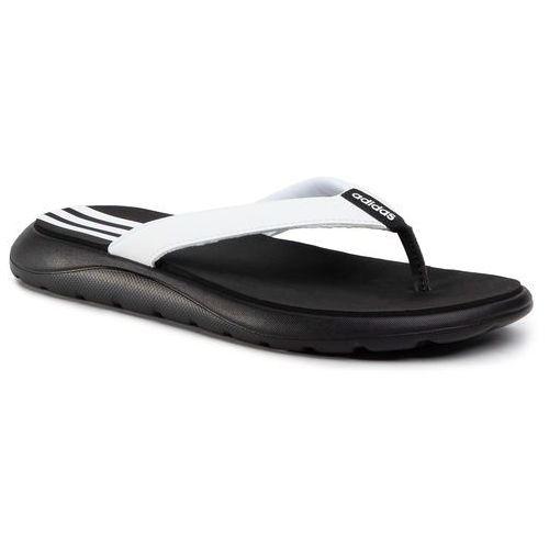 Japonki - comfort flip flop eg2065 cblack/ftwwht/cblack, Adidas, 40.5-42
