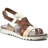 Sandały EDEO - 3085-T1/T20/T3 Beż/Brąz/Złoto, w 2 rozmiarach