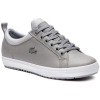 Sneakersy LACOSTE - Straightset Insulate 3182 Caw 7-36CAW0043H92 Gry/Lt Gry, kolor szary