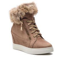 Sneakersy - izyda 34035-s9-32 light brown marki Kazar
