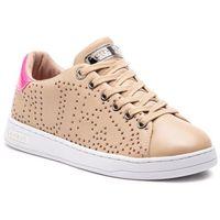 Guess Sneakersy - carterr2 fl5crt lea12 natfu