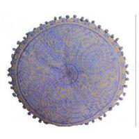 Poduszka Dekoracyjna Fioletowa Indyjska 40cm, fiolet0266-63915_20170226121431