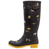Tom Joule WELLY PRINT Kalosze black, Welly Print