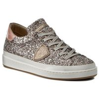 Sneakersy PHILIPPE MODEL - Classic Lakers CKLD GG44 Glitter Multi/Pink, kolor szary