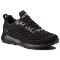 Sneakersy - bobs squad tough talk 32504/bbk black marki Skechers