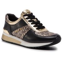 Sneakersy MICHAEL MICHAEL KORS - Allie Trainer 43R9ALFS3D Plgold/Blk, w 5 rozmiarach