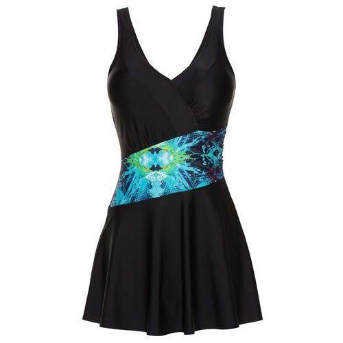 Sukienka kąpielowa bonprix czarny, sukienka