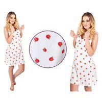 Koszula nocna jagoda: czerwień marki Italian fashion