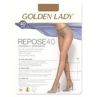 Golden Lady Podkolanówki Mini Repose 40 • ROZMIAR: 3/4 M/L • KOLOR: MELON, Pończochy Ar Silvi 15 3/M Naturale