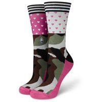 Skarpetki damskie moro Brave Lady - Heart's VA Socks
