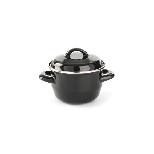 Garnek do zup i sosów z pokrywką o średnicy 120 mm, 0,8 l | HENDI, 625705