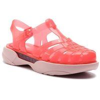Sandały - possession platform ad 32508 orange/pink 51564, Melissa, 35.5-41.5