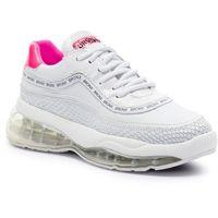 Sneakersy BRONX - 66260-JH BX 1562 White/Neon Pink 736, w 6 rozmiarach