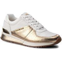 Sneakersy MICHAEL KORS - Allie Wrap Trainer 43T7ALFS1M Plgold/Wht, kolor żółty