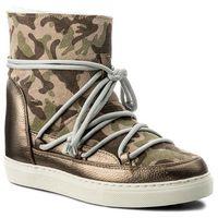 Buty INUIKII - Sneaker Wedge 30115 Camuflage Green, 35-38