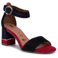 Sandały TAMARIS - 1-28379-24 Blk Suede Comb 040, w 7 rozmiarach
