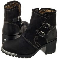 Botki lory oil suede/rug black p144048000 (fl244-a), Fly london, 36-40