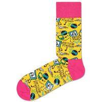 Happy Socks Steve Aoki Skarpetki Różowy Żółty 36-40