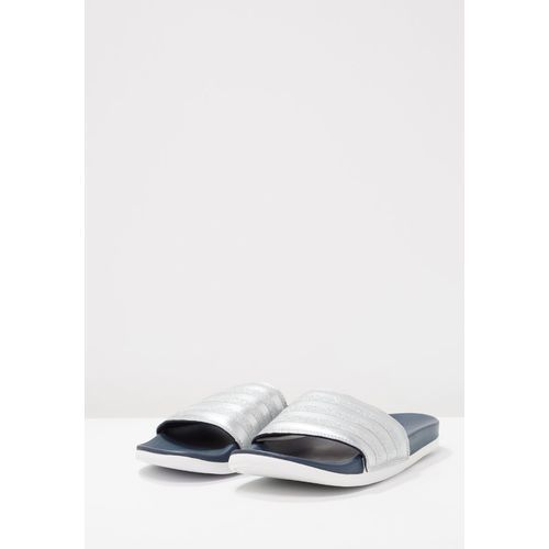 adidas Performance ADILETTE CF+ EXPLORER Klapki collegiate navy/footwear white, kolor szary