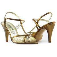 Zodiaco Sandały 9091p brązowe