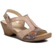 Sandały COMFORTABEL - 711023 Beige 8, w 7 rozmiarach