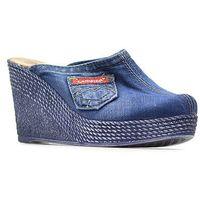 Klapki 40c232 jeans, Lanqier