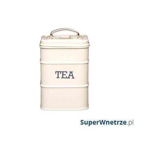Pojemnik na herbatę living nostalgia kremowy marki Kitchen craft