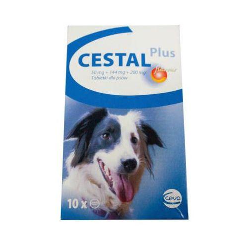 Cestal Dog Plus Flavour tabletki na odrobaczanie psów 2 sztuki