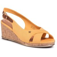 Sandały - panama mila' wl01530a yellow 073 marki Wrangler
