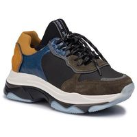 Sneakersy - 66167e-cp bx 1525 khaki/black/blue/ochre 3114, Bronx