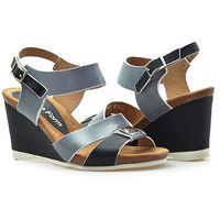 Sandały Nik 07-0204-001 Czarne lico