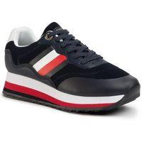 Sneakersy TOMMY HILFIGER - Sporty Tommy Retro Runner FW0FW04688 Desert Sky DW5, w 7 rozmiarach