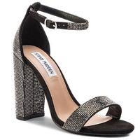 Sandały STEVE MADDEN - Carrson-R M11000371-02003-00G Black Crystal, kolor szary