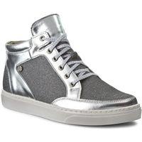 Sneakersy NIK - 08-0482-062 Srebrny