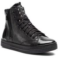 Sneakersy - temida 34554-01-00 black, Kazar