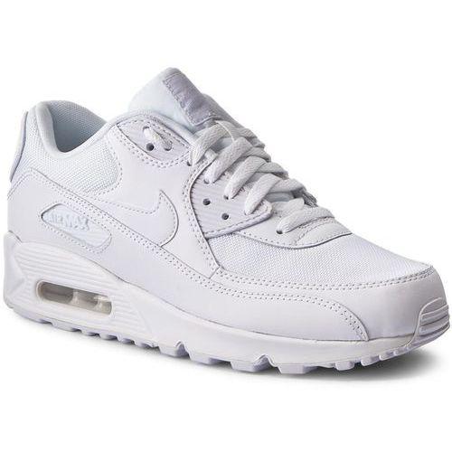 Buty - air max 90 essential 537384 111 white/white/white/white marki Nike