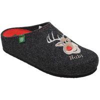 Kapcie Pantofle domowe Ciapy Dr Brinkmann 320483-9 Grafitowe - Czarny ||Grafitowy ||Czerwony (4053519824496)