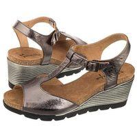 Sandały brązowe/miedziane 03049-20/00-5 (ma237-b) marki Maciejka